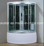 1150mm Sector sauna de vapor con bañera y ducha (AT-G8228F)