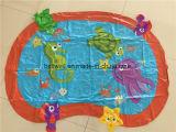 Esteira inflável do jogo da água do parque de diversões das crianças