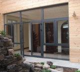 a porta a mais atrasada da liga de alumínio de vidro de teste padrão do preço da fábrica do projeto