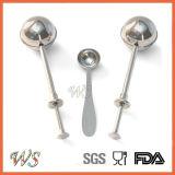 Ws-If007s Tea Ball Infuser Set Filtre à thé Metail Matériau en acier inoxydable