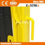 Amarillo y Negro Plástico Multitud de Control del Tráfico Barrera de Expansión