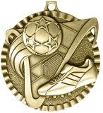 Benvenuto alla medaglia su ordinazione di gioco del calcio 3D di alta qualità