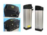 pacchetto della batteria di litio della E-Bici 36V con stile dei pesci d'argento (scarico superiore)