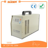 Suoer UPS 500W DC 12V para AC 220V Inversor de energia de onda sinusoidal puro com carregador embutido 20A (HPA-500C)