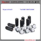 Conetor do plugue de potência de 5 Pin para a tela e o áudio de indicador do diodo emissor de luz