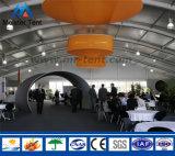 Tent van de Tentoonstelling van de Muur van het Dak van de Koepel van de Vorm van Arcum de Harde Tijdelijke Openlucht