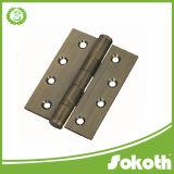 Acier inoxydable, charnière de porte matérielle en acier