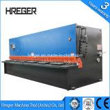 Aluminiumhydraulische scherende Maschine des blatt-Ausschnitt-QC12y-4X2500