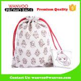 Gift&の構成のための2016の新製品のクリスマスの包装のキャンバスのビロードのドローストリング装飾的な袋