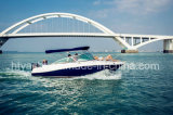 22 'Fiberglass Sporty Leisure Speed ​​Boat Hangtong Factory-Direct