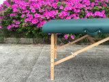 Canapés de massage en bois avec repose-tête réglable