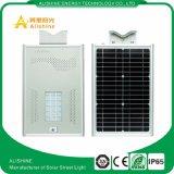 20W luz de rua de LED do painel solar com Sensor de movimento