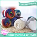 O bebé Blanet Melhor Preço lã de ovelha lavados de tricotar