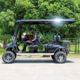 道のゴルフカートを離れて電気6 Seater