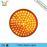 semáforo amarillo de la iluminación LED de la lámpara LED de 200m m