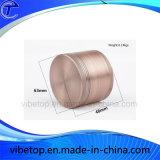 Haute qualité en aluminium de forme ronde Herb meuleuse