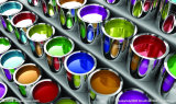Sulfate de baryum normal utilisé par enduit de poudre de la poudre 96%+ Baso4 de la vente en gros 3000mesh d'usine de la Chine (TAL-NBS02)