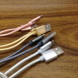 1m/2m/3m 나일론 땋는 마이크로 컴퓨터 USB 데이터 Sync 충전기 케이블