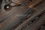 Настил твёрдой древесины деревянного настила цвета Dlack проектированный золой Heated