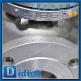 Válvula de verificación muy abierta de oscilación de Didtek API 6D