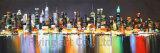 Wiedergabe-Gebäude-Ölgemälde-Segeltuch-Wand-Kunst