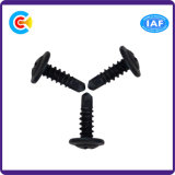 Acier au carbone 4.4 / 8.8 / 10.9 / M6 Phillips / Cross Washer Pan Head Galvanized / Black Fastener Self-Drilling Screws