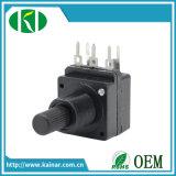 16mm un potenziometro rotativo di 5 Pin con l'interruttore Wh16s-2