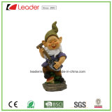 Het DwergStandbeeld van de Tuin van Polyresin van de best-seller met een Lantaarn voor Huis en Tuin Decoraiton