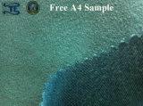 Tecido de estofamento Tecido de poliéster Warp Suede Velvet Sofa Tecido de cortina de tecido