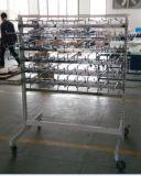 Percha fuerte del calcetín del final del cromo de la estructura para el supermercado