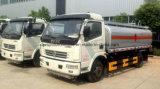 Autocisterna del combustibile di Dongfeng 4*2 6000 litri della benzina del Bower di camion di serbatoio