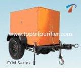 Équipement de purificateur d'huile de transformateur à vide de type de remorque (ZYM-200)