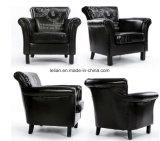 La aldea americana modela la sola silla del brazo para la sala de estar (LL-BC0081)