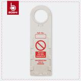 Cartão da inserção do PVC de Inclding do Tag do andaime do ABS Bd-P33
