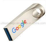 O design exclusivo da unidade flash USB metálica (UL-M014)