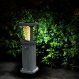방수 스테인리스 LED 정원 태양 가벼운 훈장