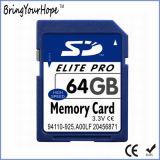 Elevada capacidade de 64GB do cartão de memória SD (64GB SD)