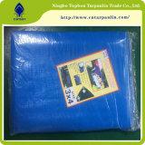 De nieuwe Versterkte Bladen van het Polyethyleen, PE Geteerd zeildoek van de Fabrikant To001 van China