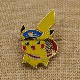 Значок Pin Pikachu металла эмали промотирования изготовленный на заказ трудный