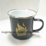 De Roestvrije Kop van het keukengerei met de Roestvrije Kop van de Koffie van de Rand