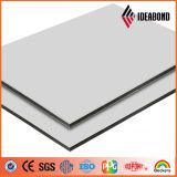 Hölzernes Muster PET PVDF zusammengesetztes Aluminiumpanel Grad (feuerfestes B1, A2) Beschichtung-Franc- (ACP)