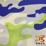Nylon ткань печатание камуфлирования тафты для вниз курток