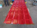 PPGI Ibr de tôle ondulée sur /Color trapèze de tuiles de toiture en métal l'étape