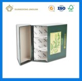 Hardcover dividido de embalajes de cartón rígido Caja de papel (Oliver aceite esencia caja).
