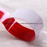 Rojo Blanco visibilidad Banda reflectante de cinta para la carretilla (C5700-B(D))