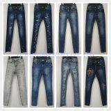 Серые тощие джинсыы для мальчиков (121-B108)