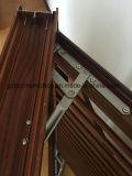 Ventana de aluminio del marco con la lumbrera ventilada fija