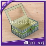 Caja de papel personalizado impreso cosmética para el Juego de regalo de embalaje