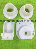 CNC die Delen van Plastiek met Uw Embleem of Laser van de Website machinaal bewerkt