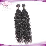 Оптовая торговля 7A/8A к категории норки Virgin волос Реми человеческого волоса Weft